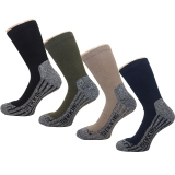 4 Paar COOLMAX TREKKING SOCKEN WANDERSOCKEN OUTDOOR STR�MPFE Gr.