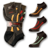 9 PAAR FASHION SNEAKER SOCKEN STR�MPFE F��LINGE 39-42 & 43-46